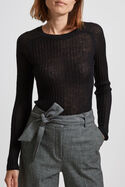 Emmie Sheer Rib Knit