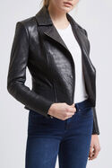 Lilia Leather Biker Jacket