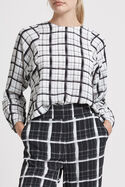 Madras Check Blouse