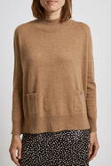 Ellie Relaxed Pocket Knit
