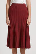 Ruby Rib Knit Midi Skirt