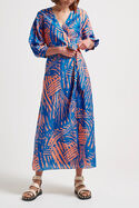 Sarisha Maxi Wrap Dress