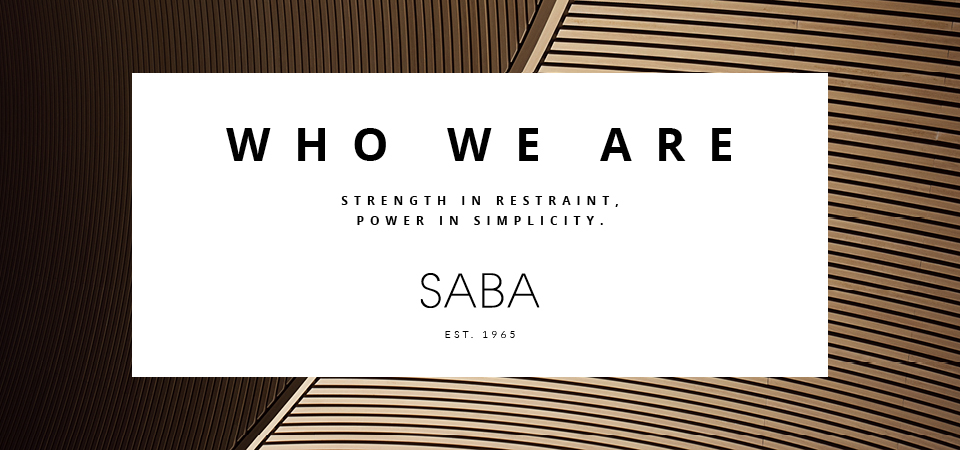 Read about the history of SABA