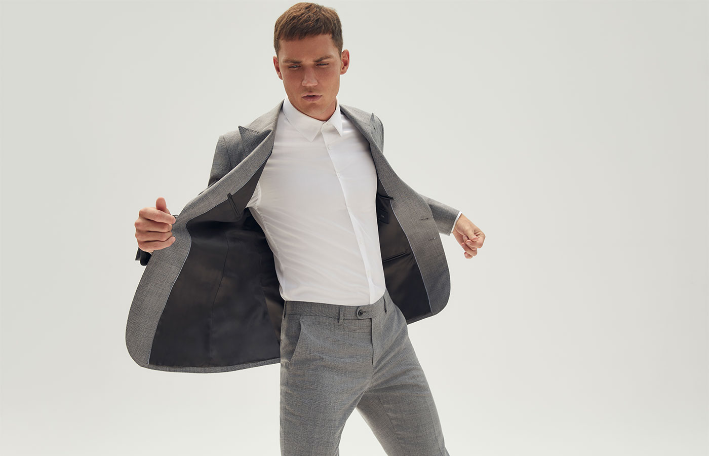 piccadilly suit grey